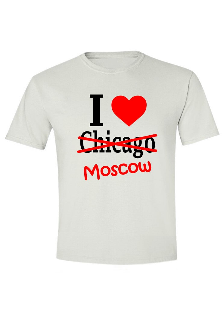 I love Chicago-Moscow
