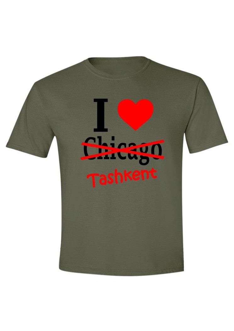I love Chicago-Tashkent