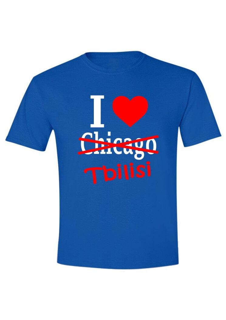 I love Chicago-Tbilisi