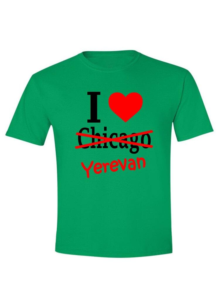 I love Chicago-Yerevan