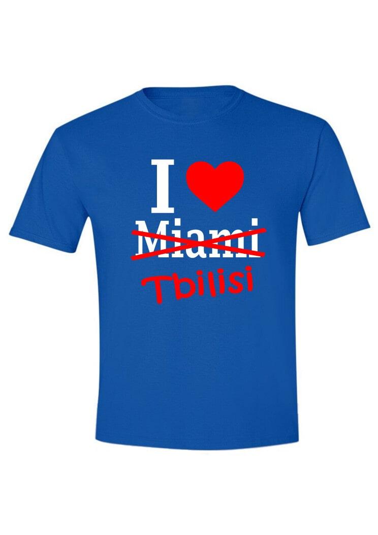 I love Miami-Tbilisi