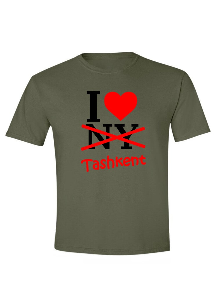 I love NY-Tashkent